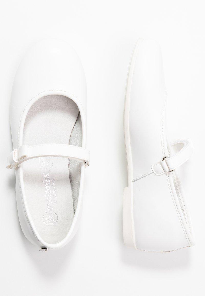 Melania - Ballerine con cinturino - white