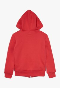 Converse - CHUCK PATCH FULL ZIP HOODIE  - Zip-up hoodie - university red - 1