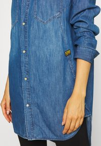 G-Star - TACOMA  - Button-down blouse - blue - 5
