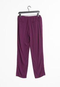 SET - Tracksuit bottoms - purple - 1