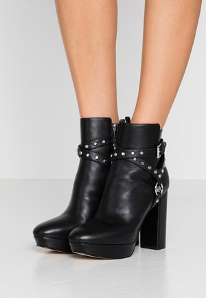 PRESTON PLATFORM - High heeled ankle boots - black