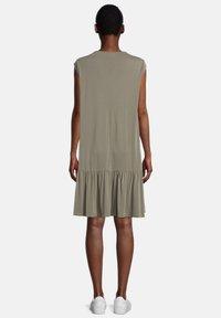 Cartoon - Jersey dress - khaki - 1