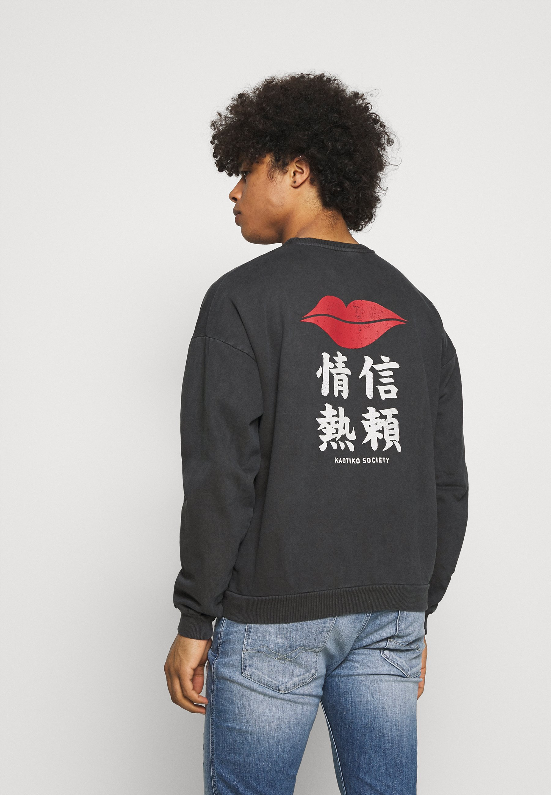 Women CREW JAPAN LIPS UNISEX - Sweatshirt