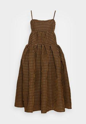 CASEY DRESS - Cocktailjurk - italian brown
