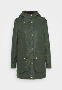 Barbour - AUSTEN WAX - Light jacket - dark green - 6