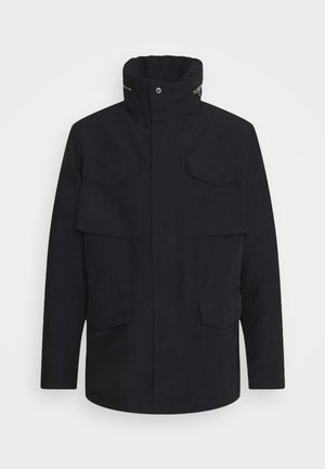 FIELD JACKET - Kort kappa / rock - black
