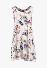 s.Oliver - HOLLY_BEACHDRESS - Jersey dress - white print - 4
