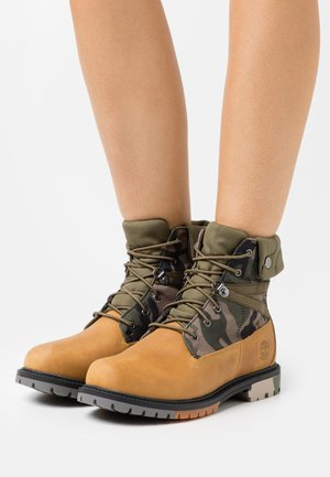6 IN HERITAGE WP - Lace-up ankle boots - wheat