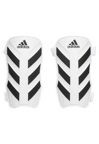 adidas Performance - EVERLITE - Shin pads - white/black - 0