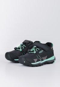 Keen - TERRADORA II LOW WP - Hiking shoes - black/beveled glass - 2