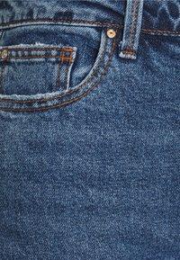 ONLY Petite - ONLEMILY RAW - Straight leg jeans - dark blue denim - 2