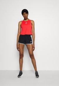 adidas Performance - M20 SHORT - Pantalón corto de deporte - black/white - 1