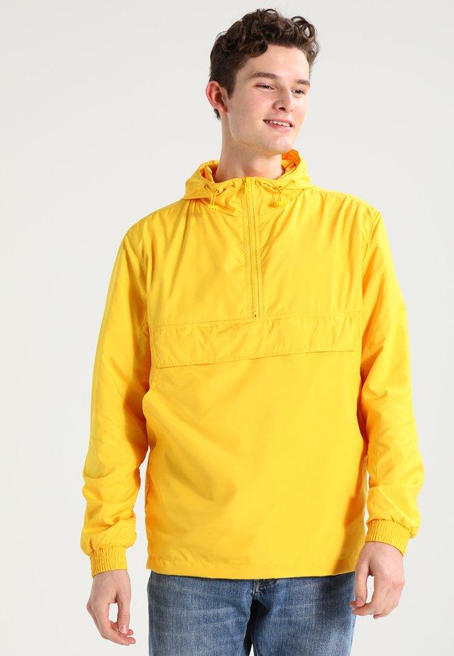BASIC - Windbreaker - chrome yellow