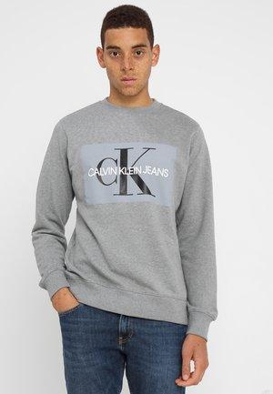 CORE MONOGRAM LOGO - Sweatshirt - grey heather