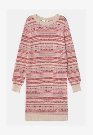GIRL FAIR-ISLE - Gebreide jurk - multi-coloured
