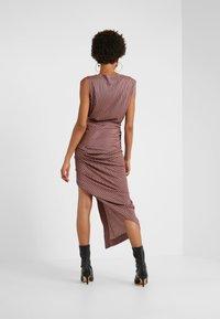 Vivienne Westwood Anglomania - VIAN DRESS - Maxi dress - aubergine - 2