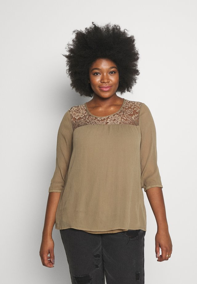 JRCAROLINA 3/4 BLOUSE - Blouse - covert green