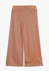 LMTD - NLFJULIA WIDE CULOTTE PANT - Trousers - sun orange - 1