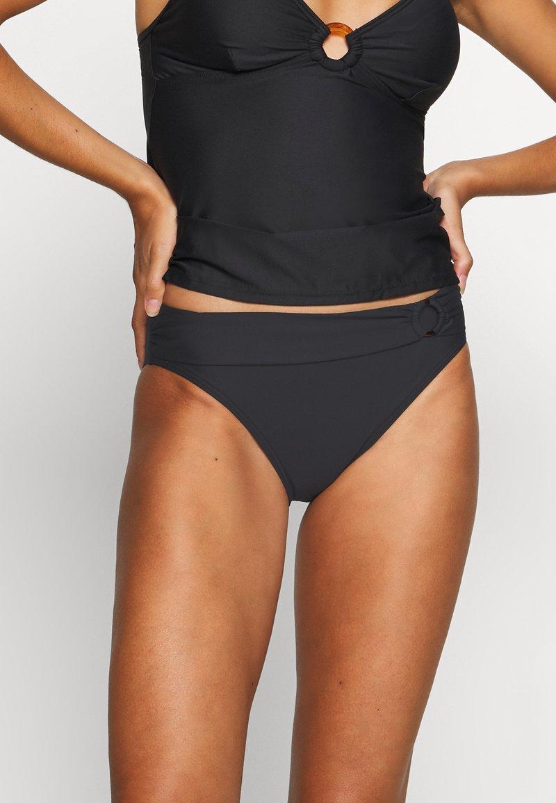 s.Oliver - Bikini bottoms - black
