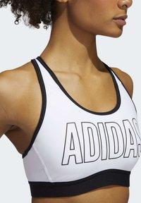 adidas Performance - DON'T REST ALPHASKIN BRA - Urheiluliivit: keskitason tuki - white - 4