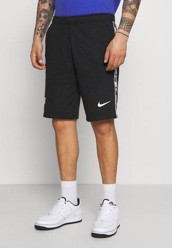 REPEAT  - Shorts - black/white