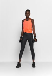 Nike Performance - DRY ELASTIKA TANK - Sportshirt - bright mango/white - 1
