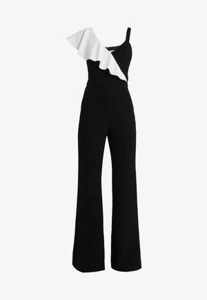 JANE - Jumpsuit - black/ecru