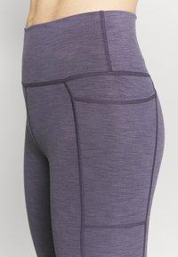 Sweaty Betty - SUPER SCULPT 7/8 YOGA LEGGINGS - Leggings - fig purple - 3