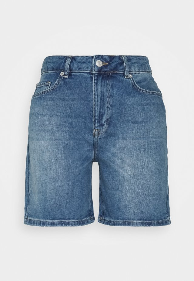 SLFSILLA FOL UP - Short en jean - medium blue denim