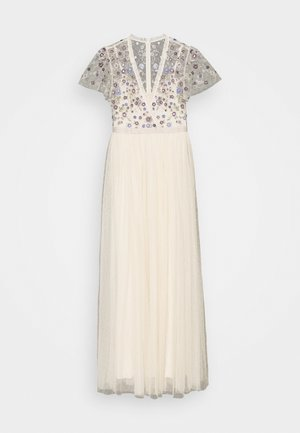 PRAIRIE FLORA BODICE MAXI DRESS - Occasion wear - champage