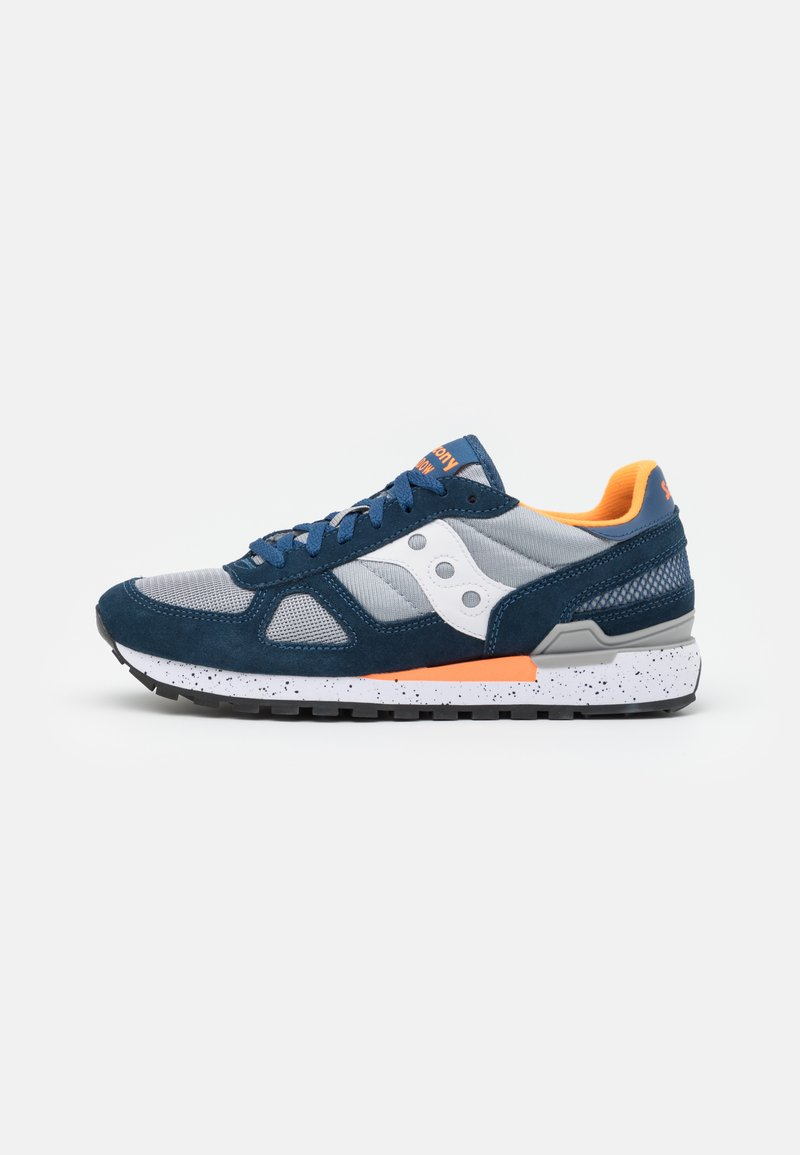 Saucony - SHADOW ORIGINAL UNISEX - Trainers - blue/grey/orange