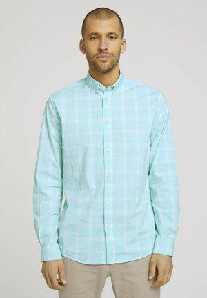 Overhemd - lucite green white check