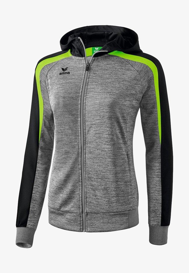 Erima - LIGA 2.0 TRAININGSKAPUZENJACKE DAMEN - Training jacket - grau / schwarz