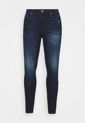 CARFONA LIFE - Jeans Skinny Fit - dark blue denim
