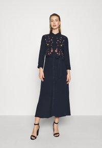 YAS - YASSAVANNA DRESS - Maxi dress - dark sapphire - 0