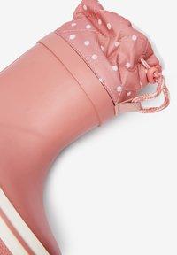 Next - WARM LINED CUFF - Stivali di gomma - pink - 3