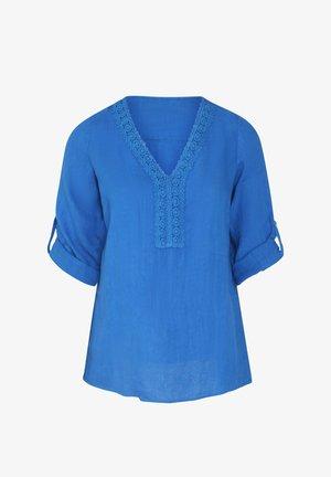 Long sleeved top - blue bic