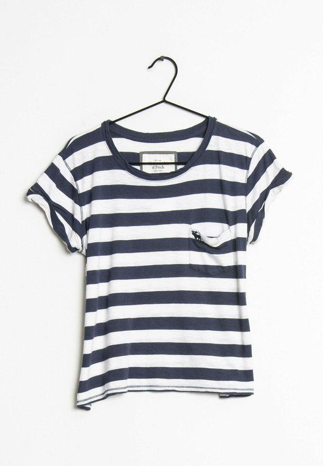 T-shirt print - blue