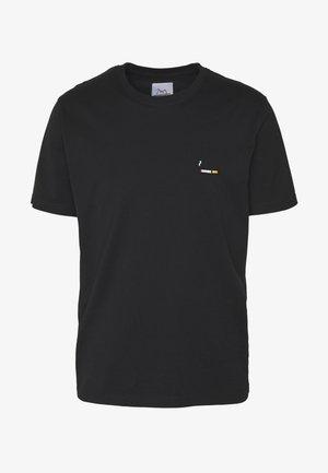 CIGARETTE SMALL - Jednoduché triko - black