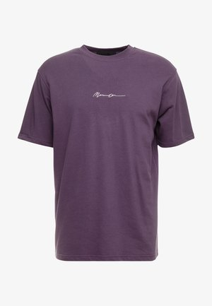 ESSENTIAL SIG UNISEX - Jednoduché triko - purple