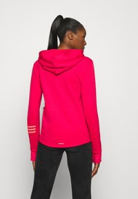 adidas Performance - Zip-up hoodie - power pink/signal pink - 2