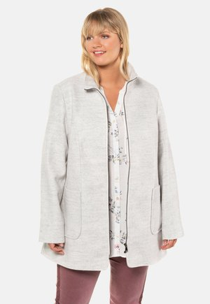 Short coat - light grey melange