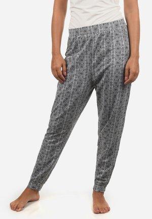 HARISA - Nattøj bukser - light grey