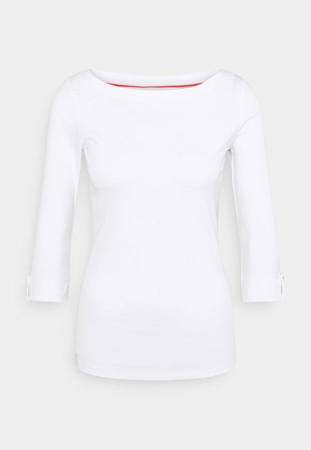 CORE - T-shirt à manches longues - white