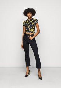 Versace Jeans Couture - Triko spotiskem - navy - 1