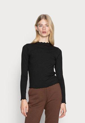 NICCA T NECK - Long sleeved top - black