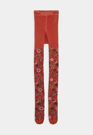 KIDSTIGHTS FLOWERS - Tights - kupfer