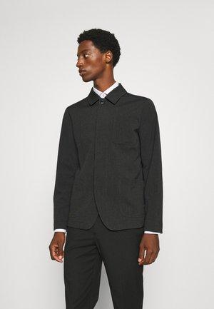 SLHREG JEFF HYBRID - Blazer jacket - dark grey melange