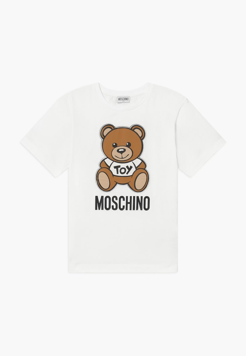 MOSCHINO - MAXI  - Print T-shirt - optical white