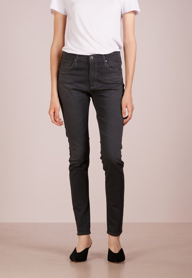FARRAH SKINNY - Jeans Skinny Fit - grey denim
